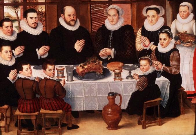 Family_Saying_Grace_Anthonius_Claeissins_c_1585