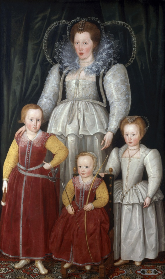 Anne,_Lady_Pope_with_her_children_by_Marcus_Gheeraerts_the_Younger