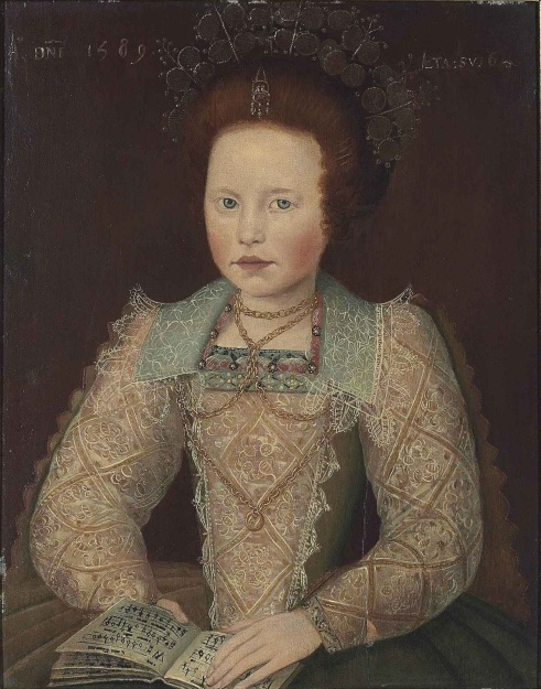 English_School_Portrait_of_a_Girl_1589