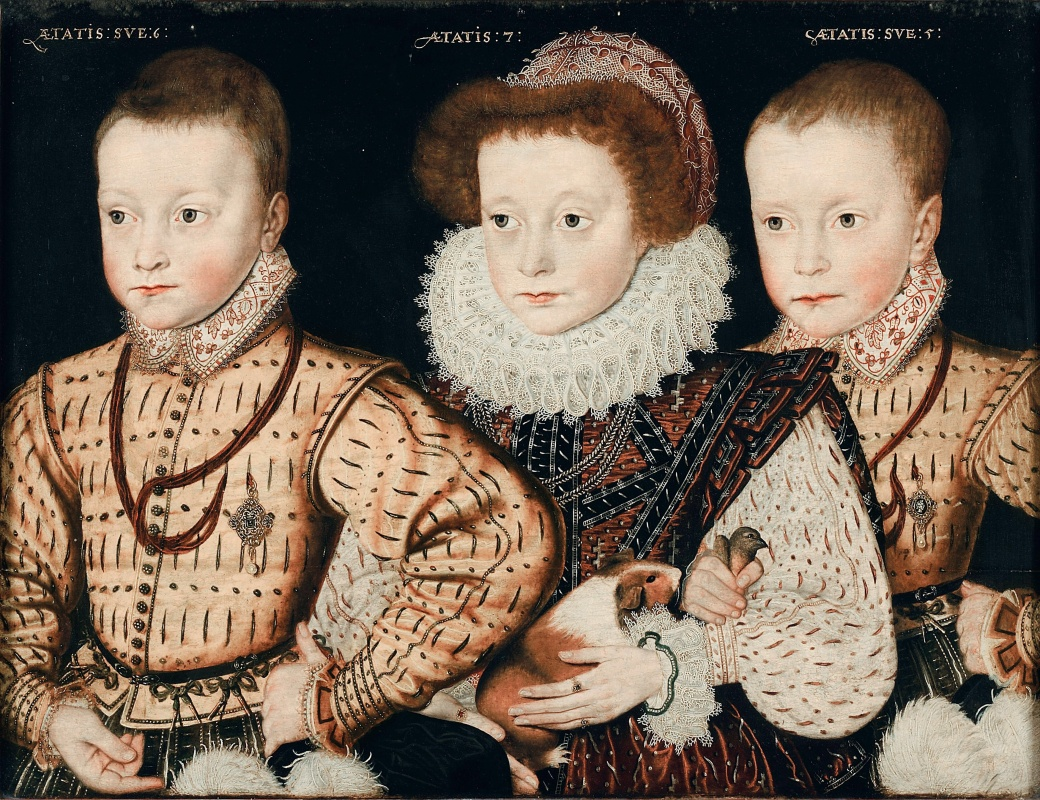 Three_Unknown_Elizabethan_Children